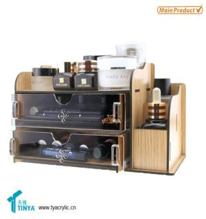 China Supplier New Design Hair And Makeup Jewelry Organizer Storage For Cosmetics