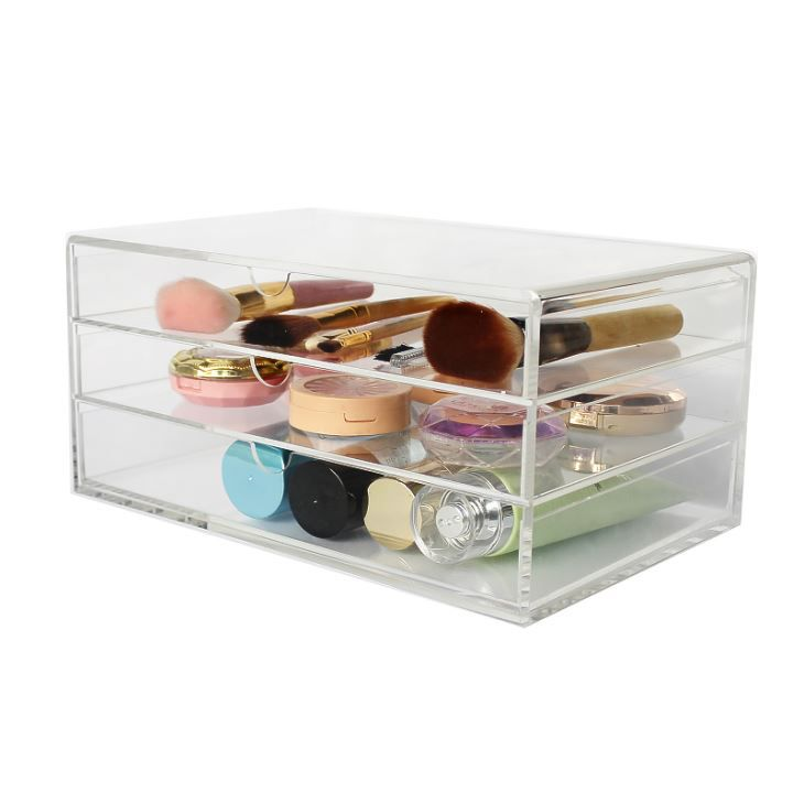 Popular New Design Durable 3 Layers Cosmetic Storage Drawer Wholesale